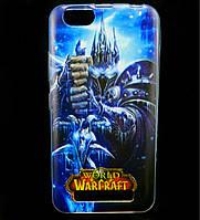 Чехол накладка для Lenovo A2020 Vibe C силиконовый с рисунком, Warcraft Arthas