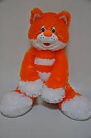 Мягкая игрушка Кот оранжевый, 55 на 34 см