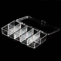 Контейнер пластиковый с крышкой, 10 секций , фото 1