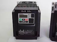 Преобразователь частоты HITACHI WL200-022HF, 2.2кВт, 5.4A, 400В. Вольт-частотный. Mini-USB, PLC.