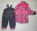 Комплект зимний: куртка и полукомбинезон для девочки, фото 2
