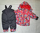 Комплект зимний: куртка и полукомбинезон для девочки, фото 8