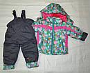 Комплект зимний: куртка и полукомбинезон для девочки, фото 9