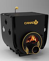 Печь с варочной плитой Canada «О3» 28 кВт стекло и перфорация