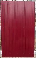 Профнастил  0,45 мм, цвет красный RAL 3005, 2 м распродажа остатков