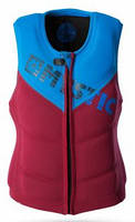 Жилет Mystic 2016 Star Wakeboard Vest Zip Bordeaux, фото 1