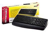 Клавиатура Genius KB-110 Black, PS/2, стандартная