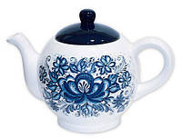 Чайник керамический цветной 1000мл