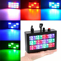 Диско стробоскоп 12L MP3 Led Room Strobe
