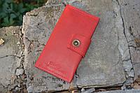 Женский портмоне из натуральной итальянской кожи, фото 1