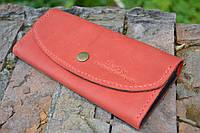 Женский портмоне клатч из натуральной кожи, фото 1