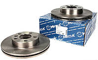 Гальмівний диск передній вентильований (R15, 280x24mm) VW Transporter T4 90-03 115 521 1038 MEYLE (Німеччина)