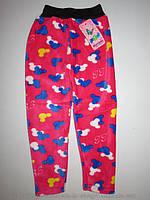 Велюровые теплые лосины (мех) для девочек 104/110-116/128-128/140 см.ВЕНГРИЯ!Теплая одежда на девочку