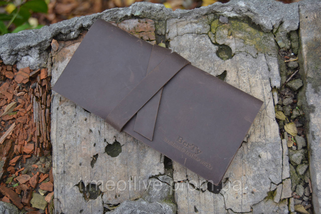 Женский портмоне из натуральной кожи