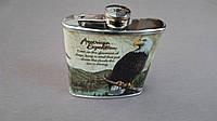 ФЛЯГА 6Y47-(6OZ), фляга белоголовый орел, фляга сувенир, фляга подарочная