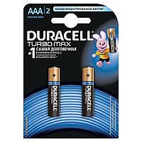 Батарейка Duracell Turbo Max AAA/LR03 BL 2шт