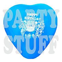 """Воздушные шарики ассорти пастель 12"""" Happy Birthday, 100 шт, фото 1"""