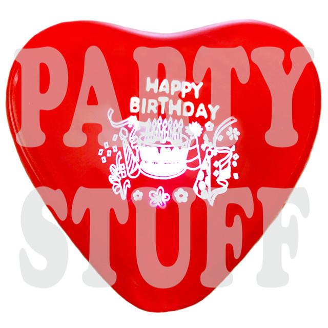 шарики ассорти пастель Happy Birthday