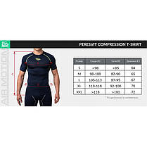 Компрессионная футболка Peresvit Air Motion Compression Short Sleeve T-Shirt Heather Grey, фото 3