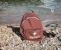 Молодіжний рюкзак Poolparty (backpack-kangaroo-brown)