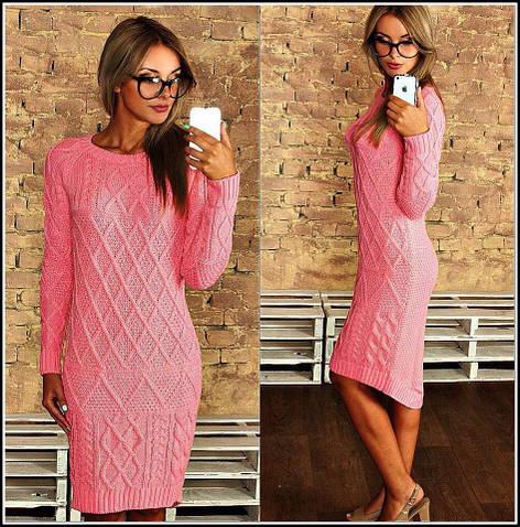 Женское платье, 100% акрил, р-р универсальный 42-46