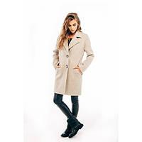 Женское демисезонное пальто SP-02-беж