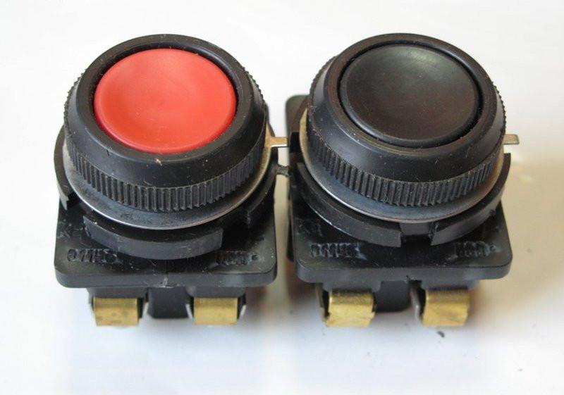 Кнопка КЕ-011 исп.3 красн.