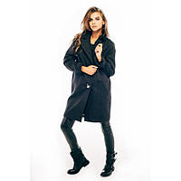 Женское демисезонное пальто SP-02-графит