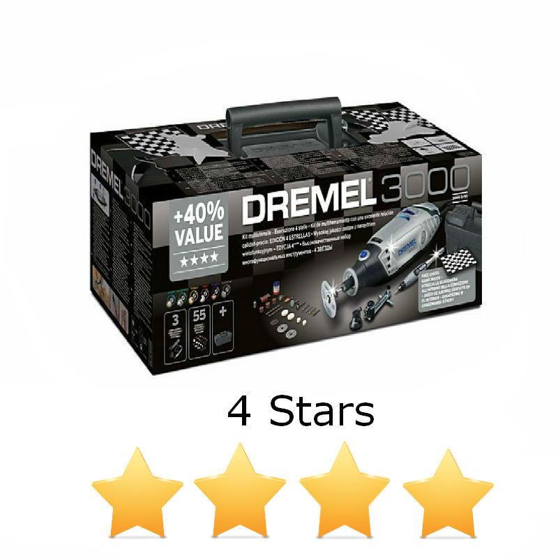 Многофункциональный инструмент Dremel 3000 (4 звезды), F0133000ML