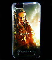 Чехол накладка для Lenovo A2020 Vibe C силиконовый с рисунком, Warcraft Durotan