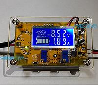 DC-DC Понижающий преобразователь c LCD рег. CC/CV 5A   USB+ Корпус, фото 1