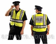 Светоотражающий жилет Police High Visibility Jacket. Великобритания, оригинал.