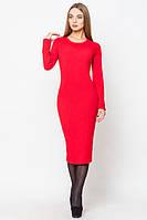 """Женское платье """"Алисия"""" , 3 размера, красное"""