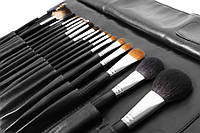Набор профессиональных кистей для макияжа Nastelle (Настель) на 18шт.