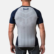 Компрессионная футболка Peresvit Air Motion Compression Short Sleeve T-Shirt Navy Grey, фото 3