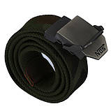 Джинсовый пояс самосброс «NOS» 110-130 см (стропа на выбор), фото 5