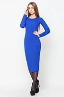 "Женское платье ""Алисия"", 3 размера, синий электрик"