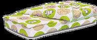 Комплект  Лежебока 620х1250х110мм Велам Бэйби матрас + простынь + одеяло + подушка