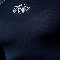 Компрессионная футболка Peresvit Air Motion Compression Short Sleeve T-Shirt Navy Grey, фото 2