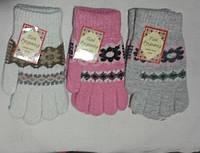 Перчатки женские шерсть ПАНИ РУКАВИЧКА