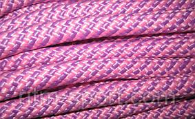 Скакалка для художественной гимнастики (фиолетово-розовый цвет, Украина)
