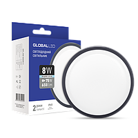 Светодиодный накладной светильник 1-HPL-001-C 8W 5000K IP65 Global