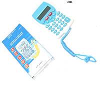 Калькулятор  пласт микро 2цв с верев