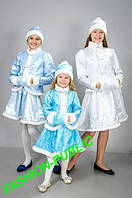 Новогодний костюм для девочки Снегурочка