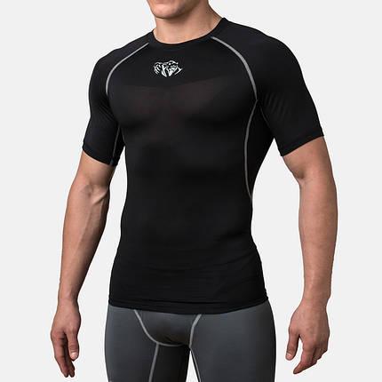 Компрессионная футболка Peresvit Air Motion Compression Short Sleeve T-Shirt Black, фото 2