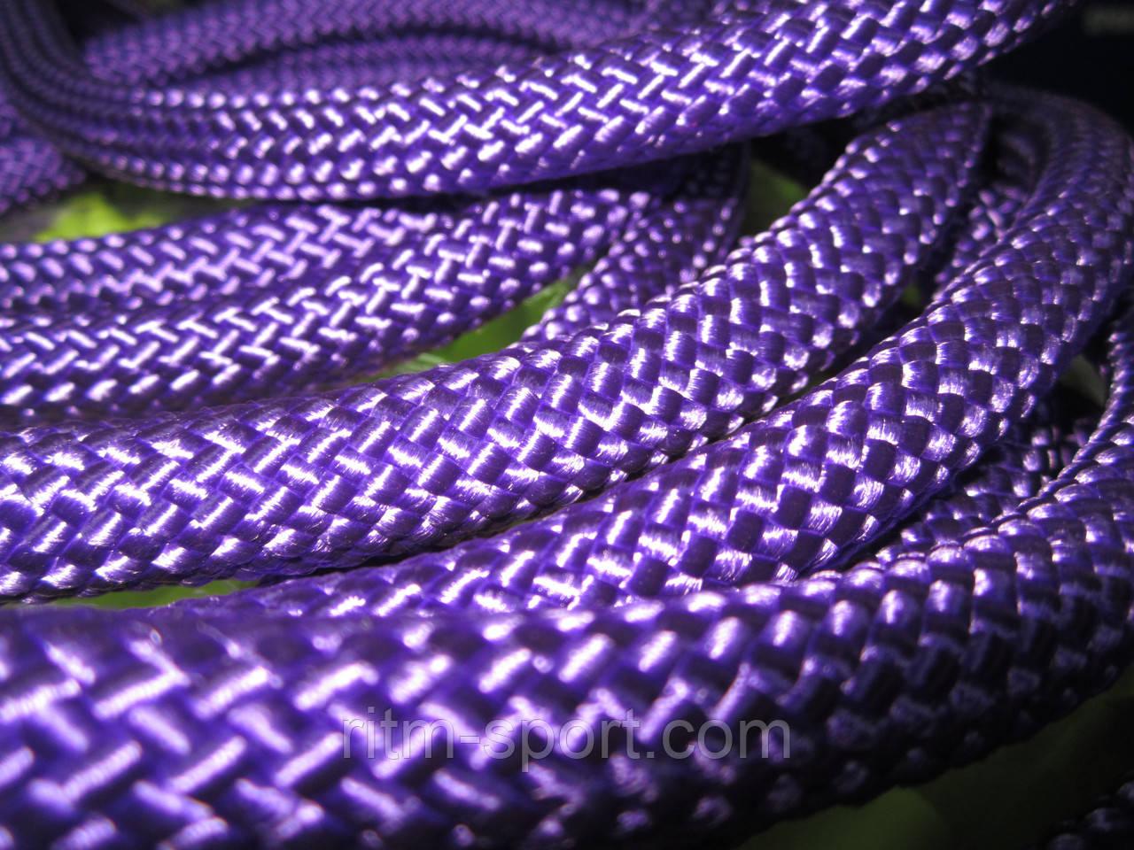 Скакалка для художественной гимнастики (Фиолетовая, Украина)