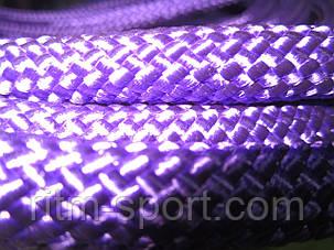 Скакалка для художественной гимнастики (Фиолетовая, Украина), фото 2
