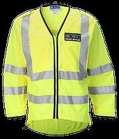 Светоотражающая накидка police High Visibility Jacket. Великобритания, оригинал., фото 1