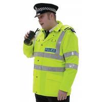 Светоотражающая накидка police High Visibility Jacket. Великобритания, оригинал.