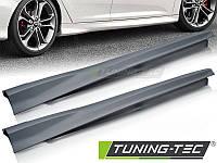 Накладки на пороги тюнинг обвес Ford Focus MK3 в стиле ST